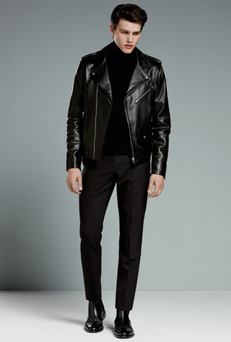 Jersey negro de ESPRIT Collection