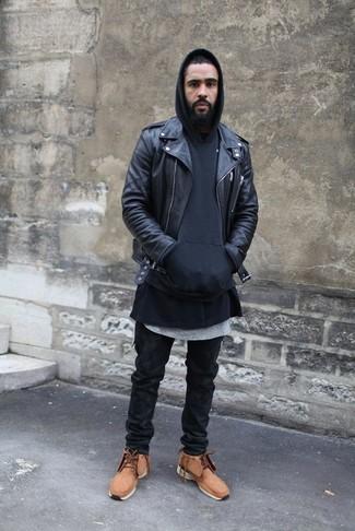 Sudadera con capucha negra de edc by Esprit