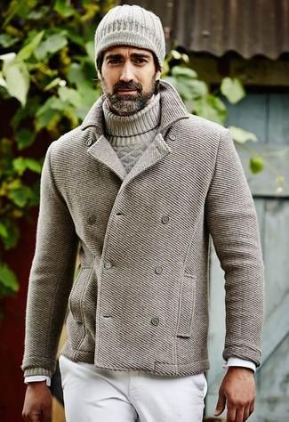 Jersey de ochos gris de Gant