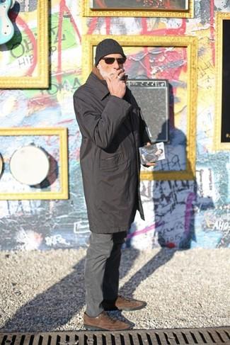 Gafas de sol en marrón oscuro de Fendi