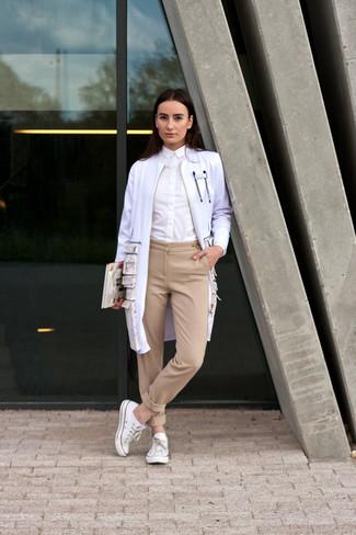 Pantalon de vestir beige mujer - Que porter avec un pantalon beige femme ...