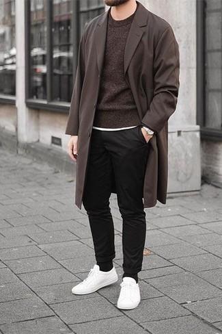 Jersey en marrón oscuro de Maerz