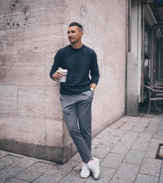 Cómo Combinar Un Pantalón De Vestir Gris 1081 Looks De Moda