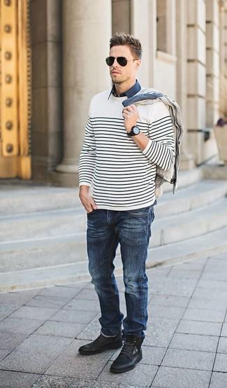 Camisa de manga corta azul marino de Dickies