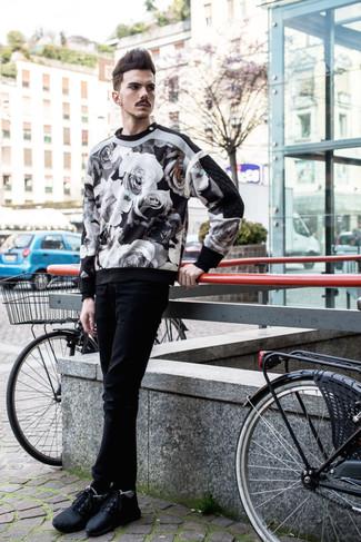 Pantalón chino negro de Tom Tailor Denim
