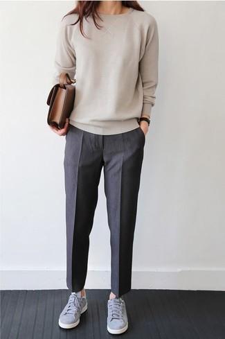 Moda Oscuro86 Combinar Un Gris Pantalón Cómo Vestir De Looks En zMpSUV