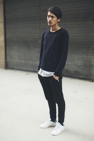 Pantalón de chándal negro de Trigema