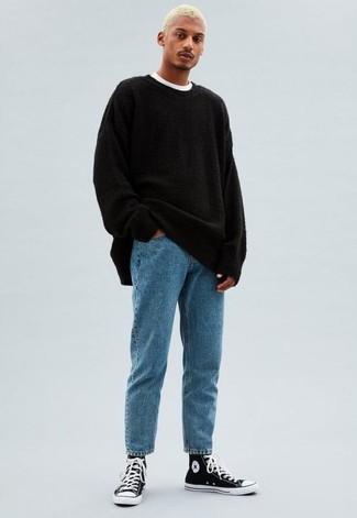 Jersey negro de BLEND