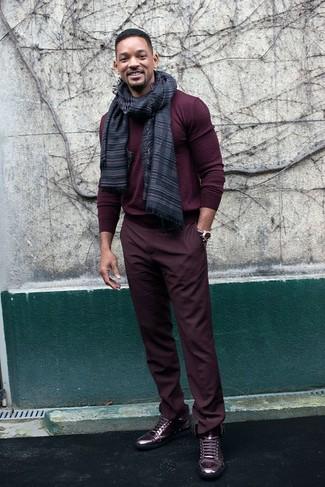 Pantalón chino burdeos de Wrangler