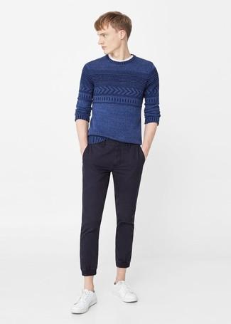 Jersey azul de Calvin Klein
