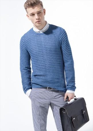 Jersey de ochos azul de Gant