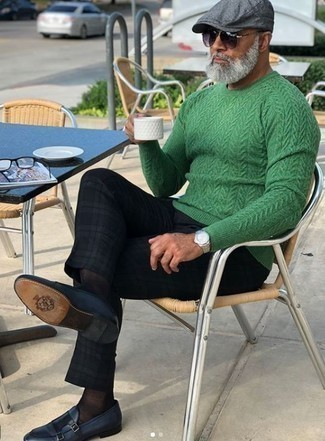 Jersey de ochos verde de Gant