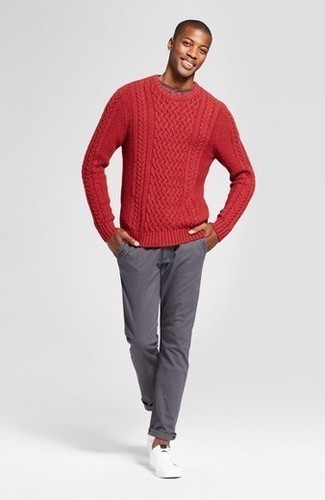 Jersey de ochos rojo de MSGM