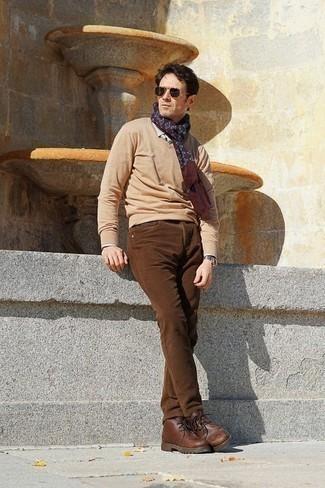 Jersey marrón claro de next