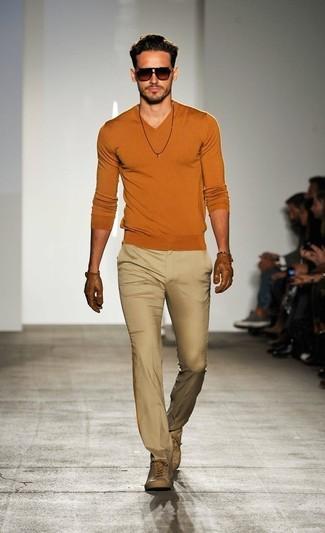 Jersey de pico naranja de Al Andalus