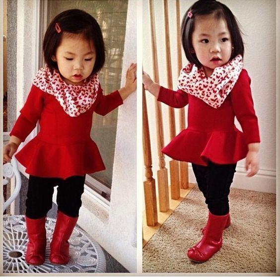 2394ab4ac Look de moda  Jersey rojo