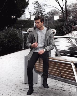 Jersey gris de Armor Lux