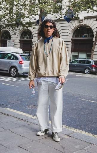 Jersey en beige de Tommy Hilfiger