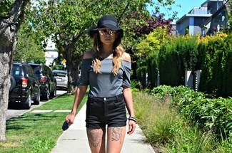 Pantalones cortos negros de IRO