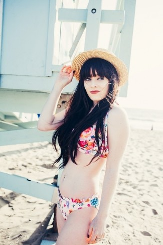 Braguitas de bikini en multicolor de Mara Hoffman