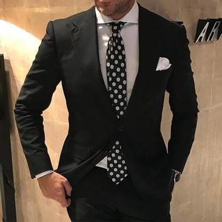 bf3732959 Traje negro de Gucci, €1,650 | farfetch.com | Lookastic España