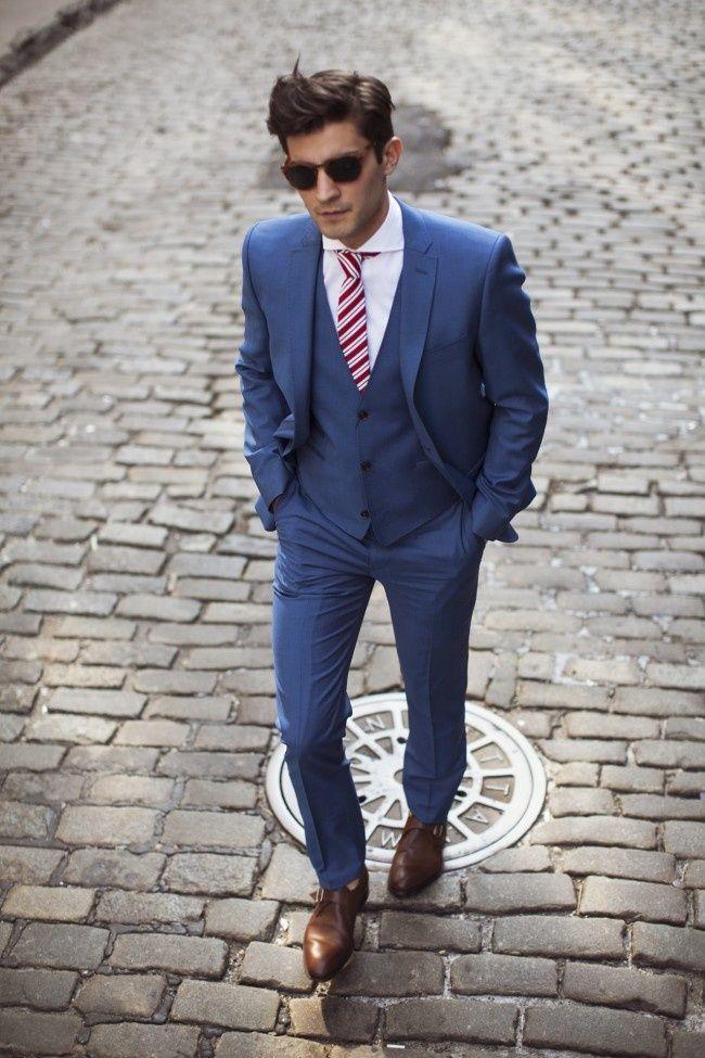52c5404fbe zapatos hombre para traje azul