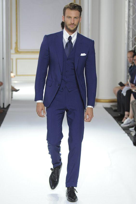 Marino Zapatos Hombre Formales Azul Qow3k Para 65xwSpqB
