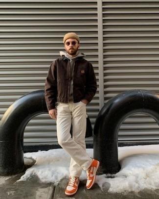 Gafas de sol en marrón oscuro de Valentino