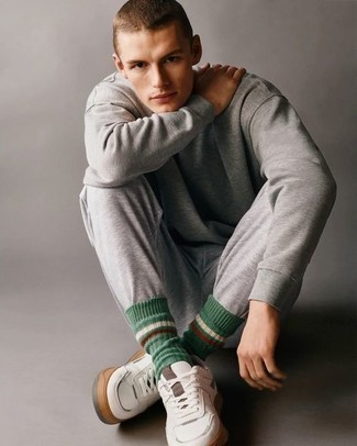 Chándal gris de Nike