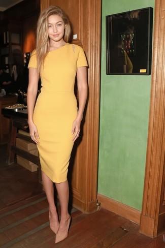 52d15682c4d Cómo combinar un vestido amarillo (265 looks de moda)
