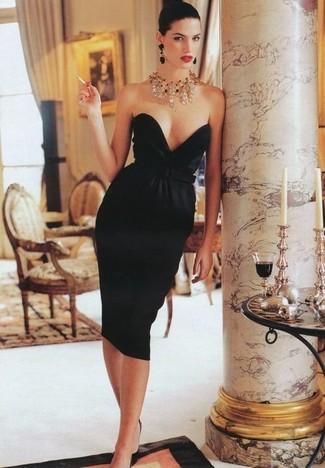 Collares de moda para vestido negro