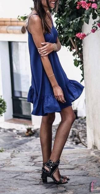 Cómo combinar un vestido (1260 looks de moda)  c8e637261f0