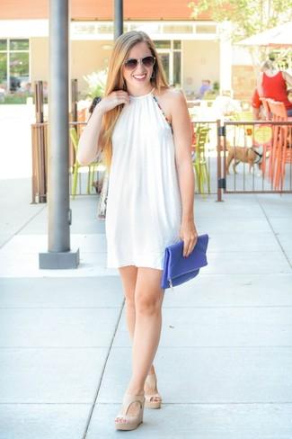 Cómo Un Vestido De Verano Looks Amplio En Blanco 201915 Combinar 9IH2WED