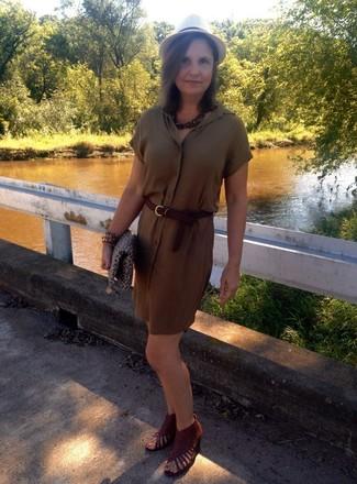 Pulsera marrón de GOLDMAJOR