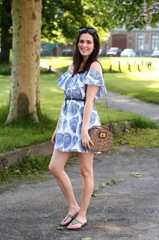 ModaModa En Cómo Combinar Azul771 Vestido Un Y Looks De Blanco kOXwiuTPZ
