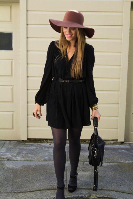 Look casual vestido gris