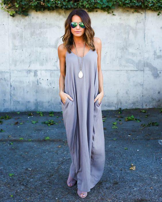 Vestidos largos para diario