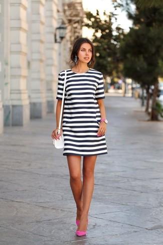 Zapatos y bolso para vestido blanco y negro