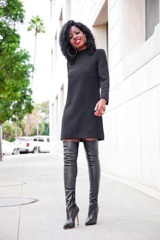 Como lucir un vestido negro en el dia