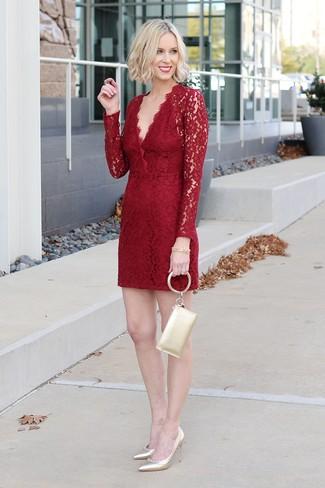 Cómo encaje vestido rojo63 de outfits un combinar qSUpVzM