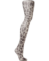 Medias de leopardo grises de Acne Studios