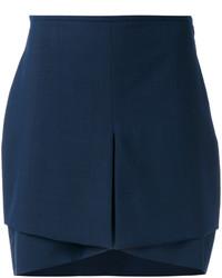 Minifalda azul marino original 1459041