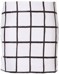 Minifalda blanca y negra original 3148683