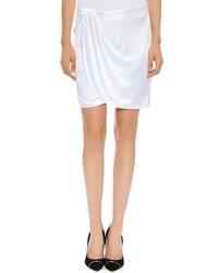 Minifalda blanca de Versace