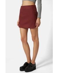 Minifalda burdeos original 1459959