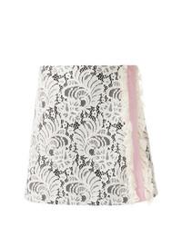 Minifalda de Encaje Blanca de Brognano