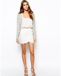 Minifalda de Encaje Blanca de Goldie