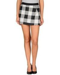 Minifalda de lana