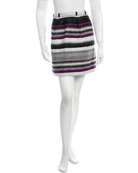 Minifalda de rayas horizontales original 1464227