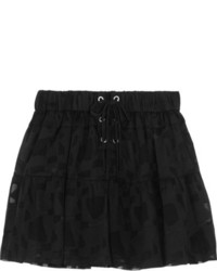 Minifalda de tul negra de IRO